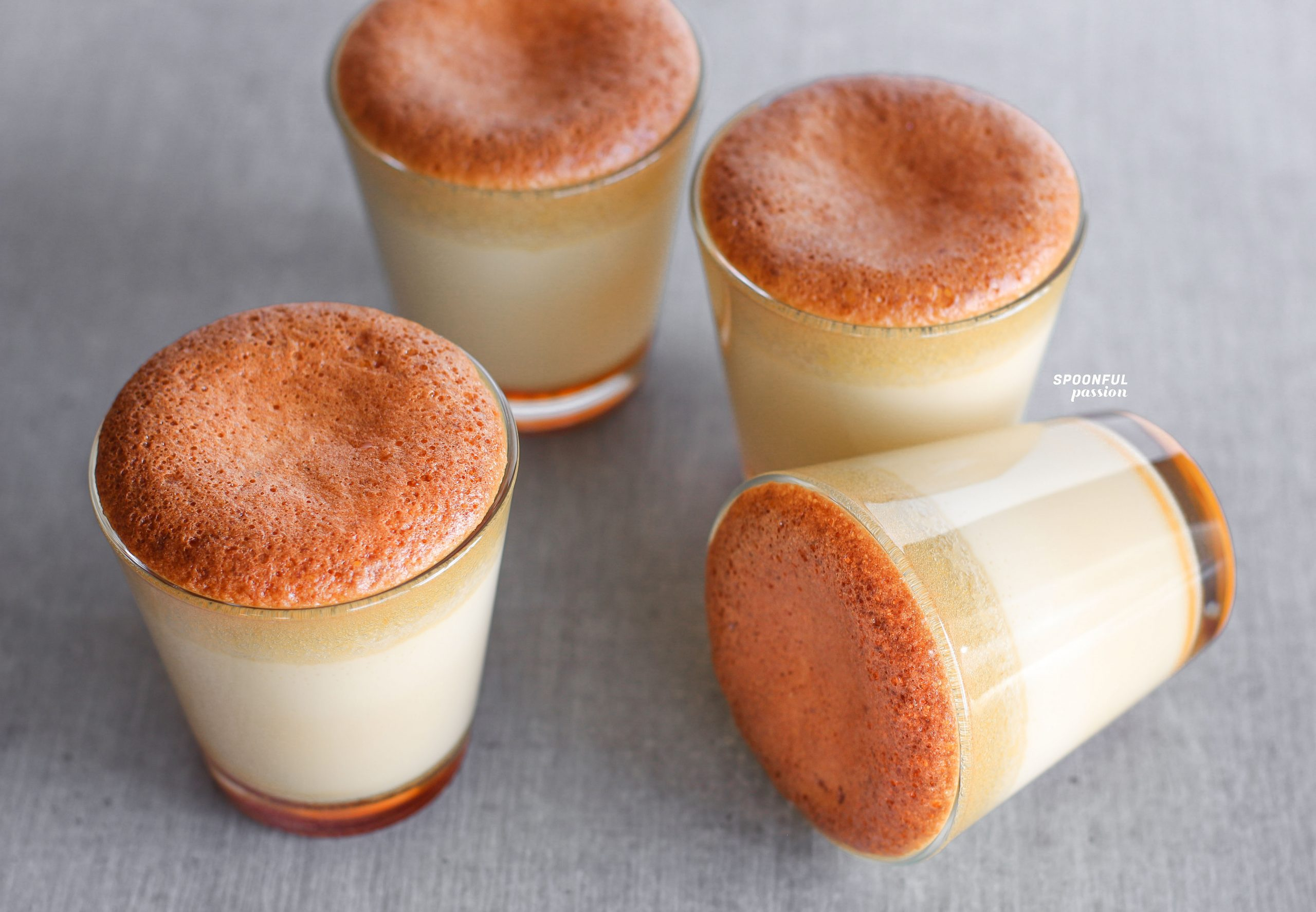 Castella Caramel Pudding Spoonful Passion