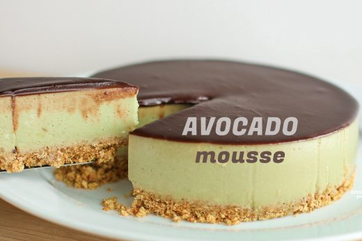 avocado mousse cake