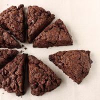 Chocolate scones