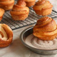 Cinnamon sugar bun