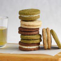 Brown butter sandwich cookies