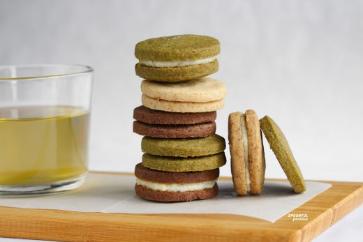 Brown butter sandwich cookies