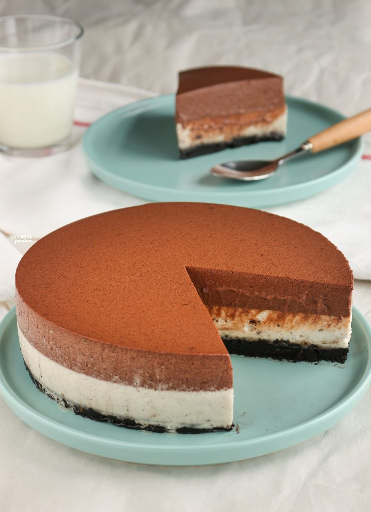 Oreo chocolate mousse cake